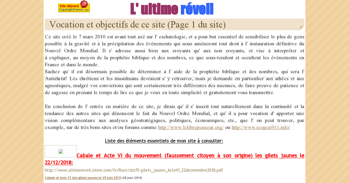 LA KABBALE REVEILLE PDF